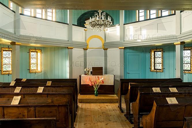 Tesařovská kaple, interier