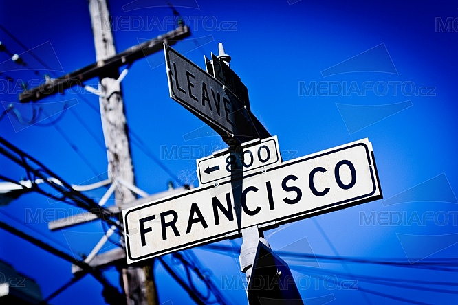 Ulice, San Francisco, Kalifornie, USA