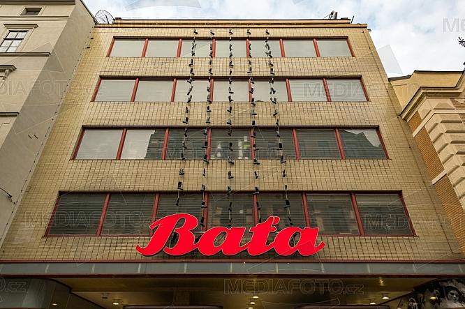 Obchodní dům Baťa, Česká ulice, Brno