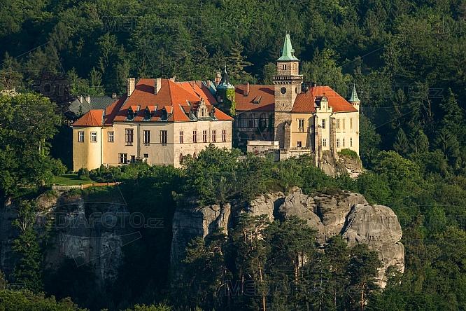 Hrubá Skála, zámek, Český ráj