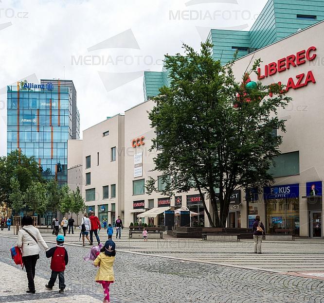 OC Plaza, Liberec