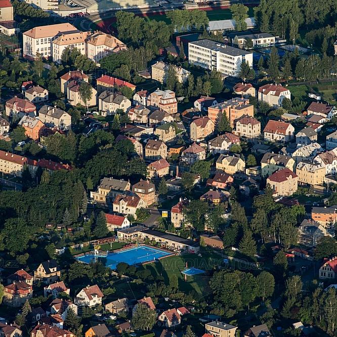 Liberec, Horní Růžodol, koupaliště, Vápenka