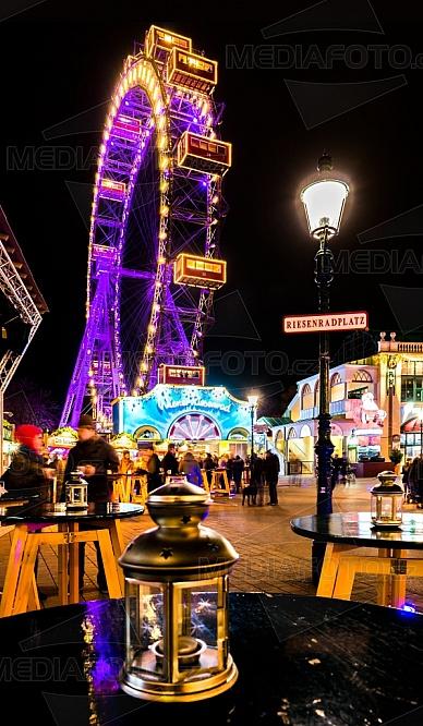 Obří kolo, Prátr, Vídeň, zábava, park