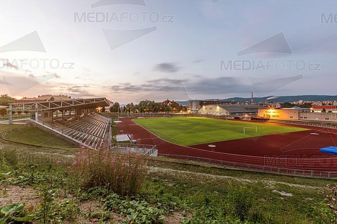 Atletický a fotbalový stadion v Liberci