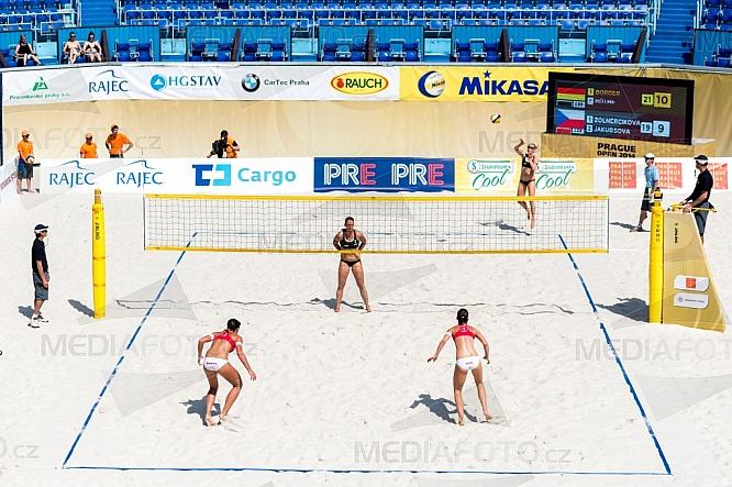 Beachvolejbal, Prague Open, sport