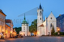 Kostel sv. Jana Křtitele, Pravoslavný chrám Povýšení sv. Kříže, Teplice