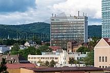 S tower, S group, budova, Liberec