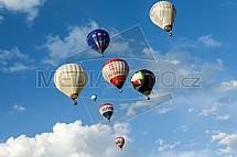 Horkovzdušný balon, skupina