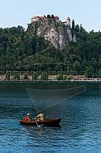 Bled, jezero, hrad