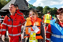 Cvičení IZS, záchranář, zranění, první pomoc