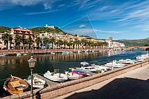 Řeka Temo, Bosa, Sardinie