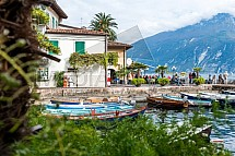 Přístav v Limone, Lago di Garda
