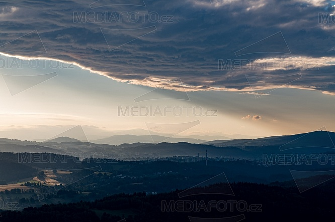 Jablonec nad Nisou, mraky