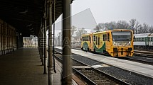 Vlak, nádraží, Liberec