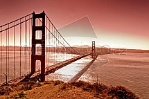Golden Gate, San Francisco, Kalifornie, USA