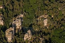 Mariánská vyhlídka, hruboskalské skalní město, Český ráj