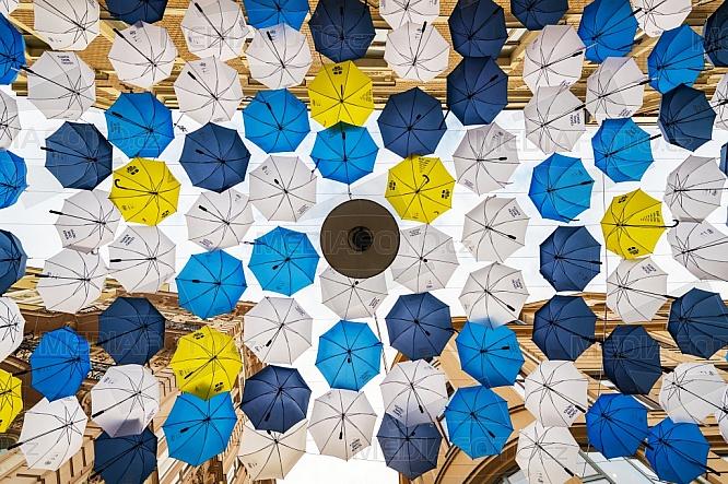 Deštník, Česká ulice, Brno