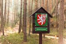 Přírodní rezervace, označení, les