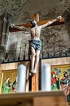 Ježíš Kristus, kříž, kostel