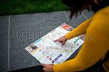 Mapa, cestování, plán