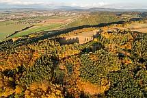 Les, podzim, krajina