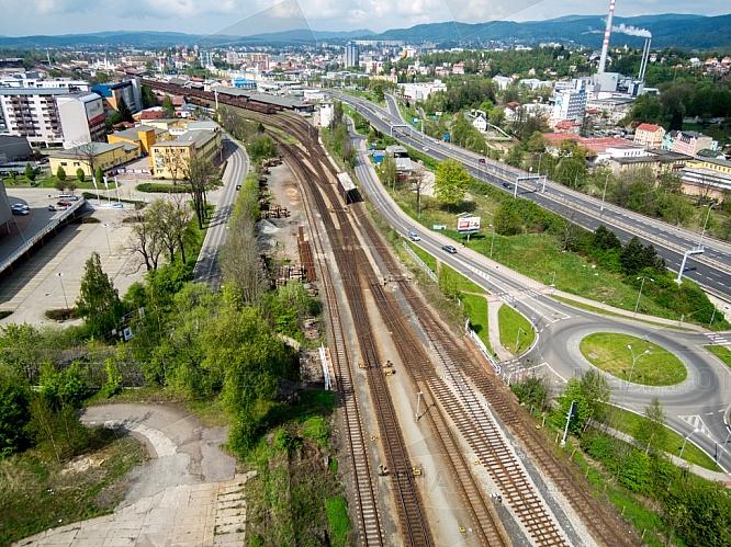 Koleje, železnice, Liberec