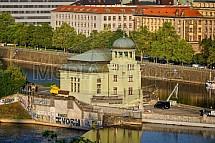 Malá vodní elektrárna Štvanice, Praha, Vltava