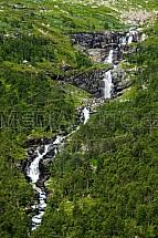 Vodopád, Norsko