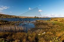 Jezero Lough Bofin, jaro