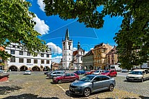 Kostel Všech svatých, Mírové náměstí, Litoměřice