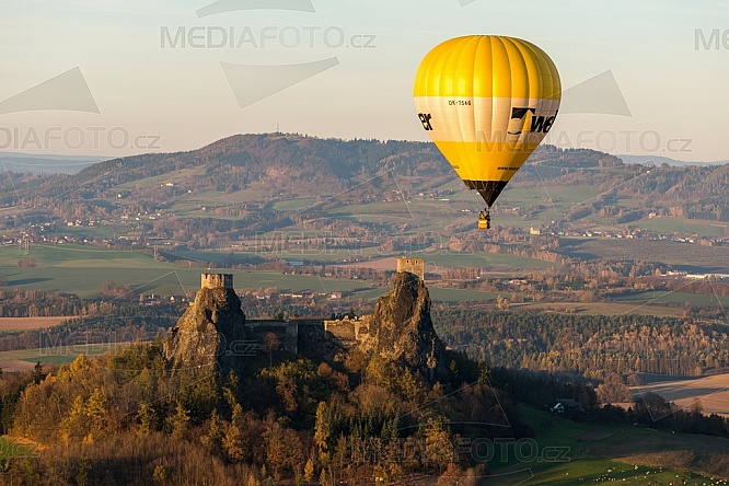 Horkovzdušný balon, Trosky