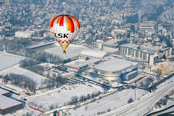 Horkovzdušný balon, Sportpark, Tipsport arena, Liberec
