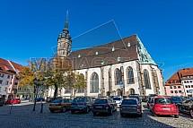 Katedrála Svatého Petra, Bautzen, Budyšín, Německo