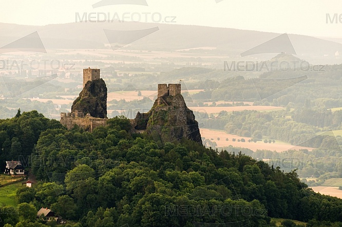 Trosky, hrad