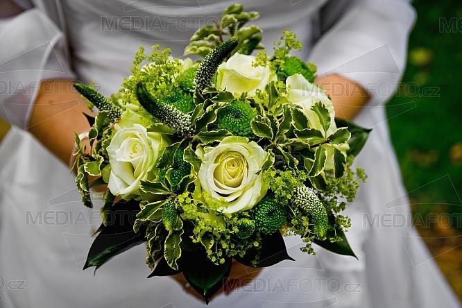 Svatba, kytice, květina