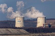 Hnědouhelný důl a elektrárna PGE Turów