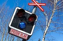 Zelezniční přejezd, signalizace