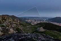 Bergen, Ulriken, Blåmanen, stan