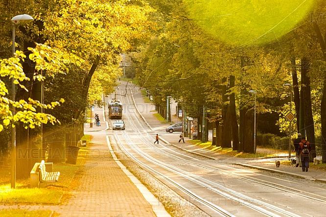 Tramvaj, ulice, Masarykova, Liberec