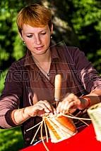 Proutí, pletení, košík