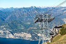 Lanovka, Monte Baldo, Malcesine, Lago di Garda