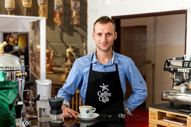 Michal Nováček, barista