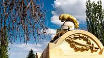 Olšanské hřbitovy, přilba
