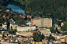 Nemocnice, přehrada, Liberec
