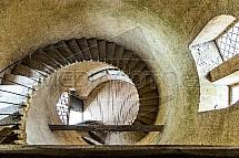 věž, schody
