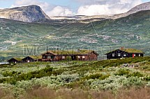 Horská chata, skandinávie