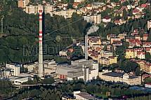 Teplárna, Termizo, spalovna, Liberec