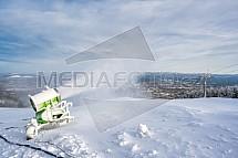 Lyžařský areál Ještěd, sněžné dělo