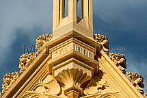 Zámek Lednice, detail, fasáda