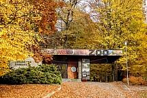 ZOO, Liberec, vchod, podzim